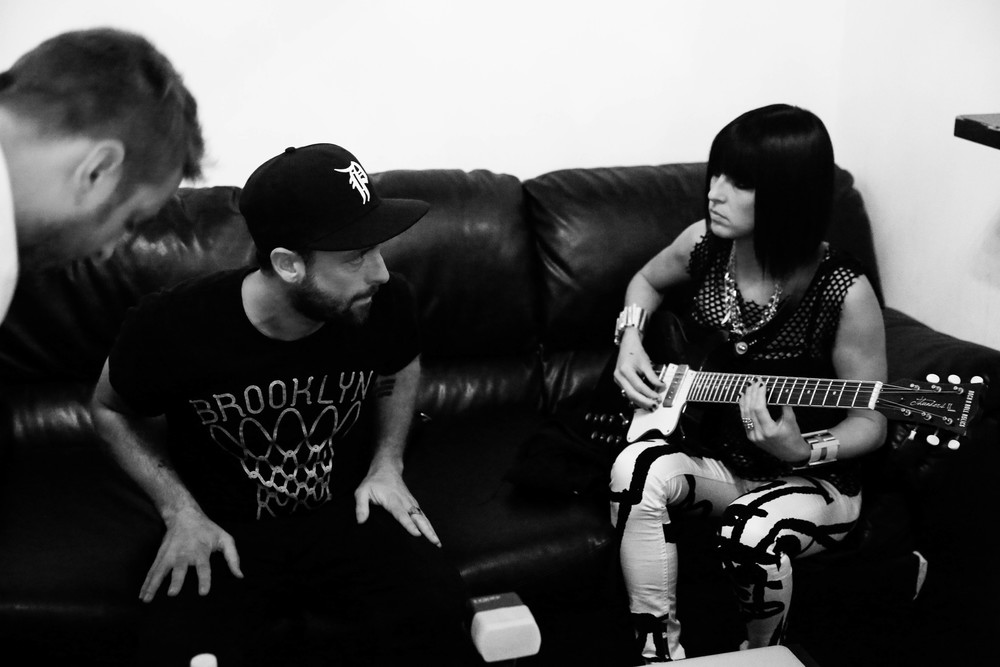Phantogram Backstage
