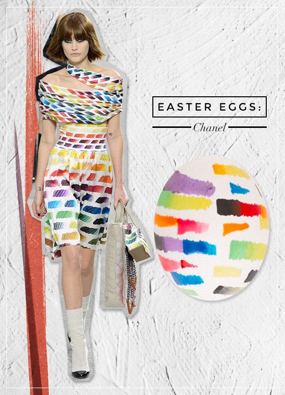chanel easter eggs