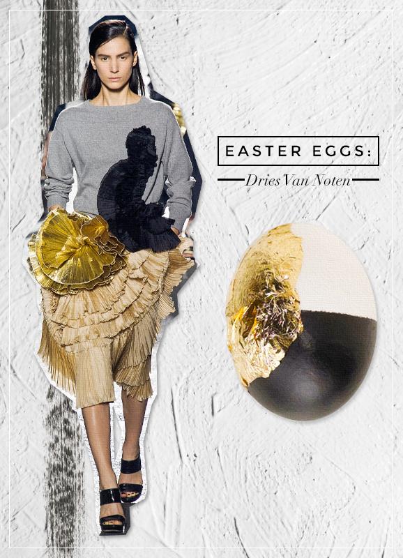 dries van noten easter eggs