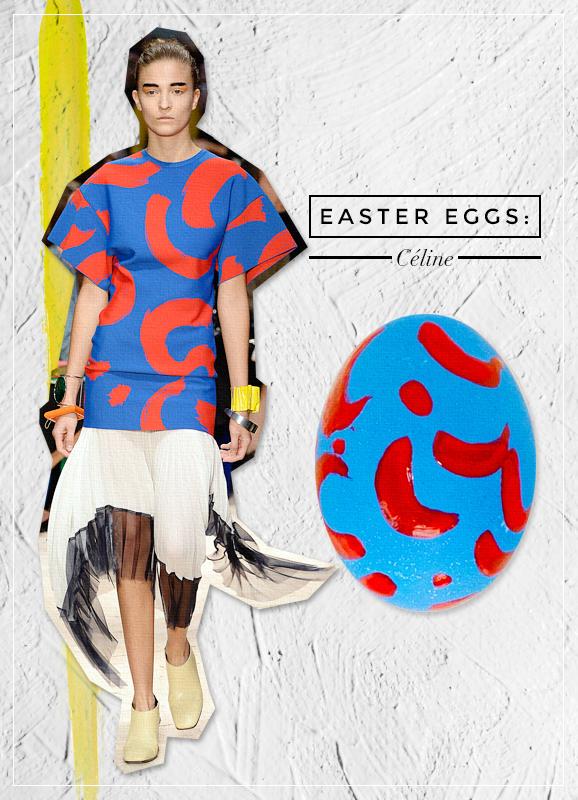 celine easter eggs