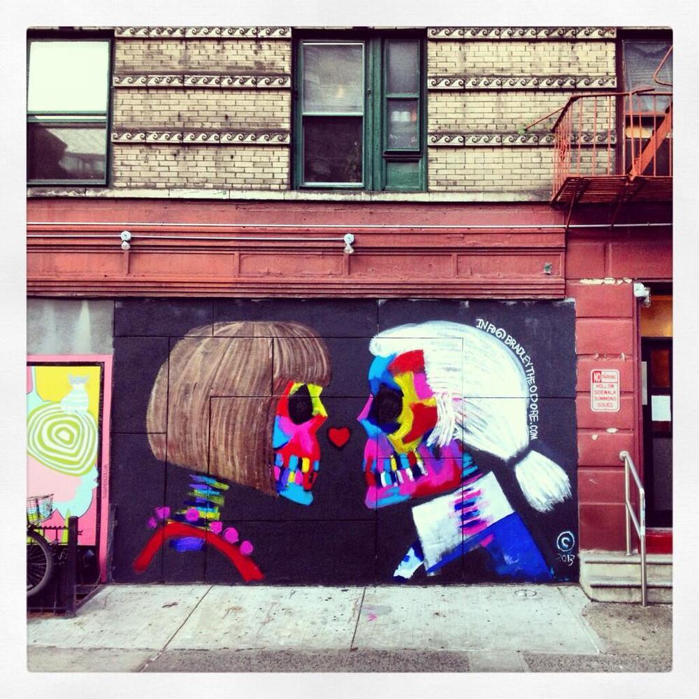 ...street art...