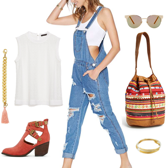 feminine western summer outfit