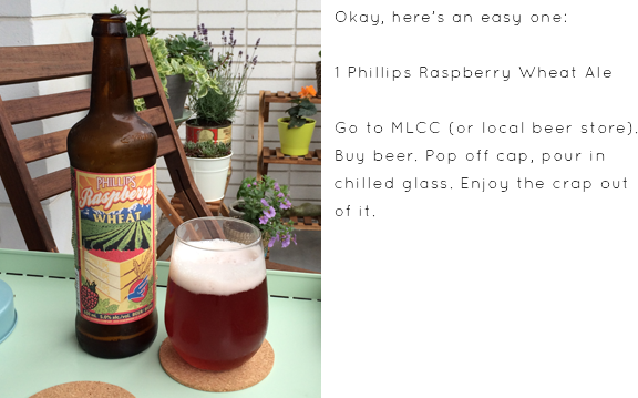 phillips raspberry wheat ale