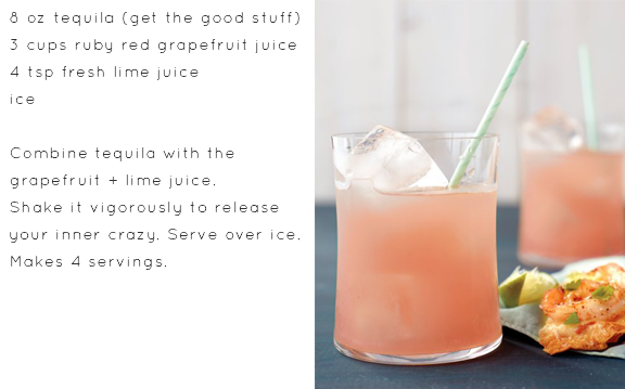 ruby red tequila cocktail recipe