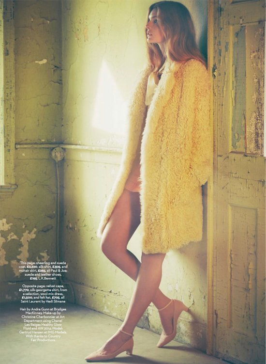 Marie Claire UK September 2014 editorial