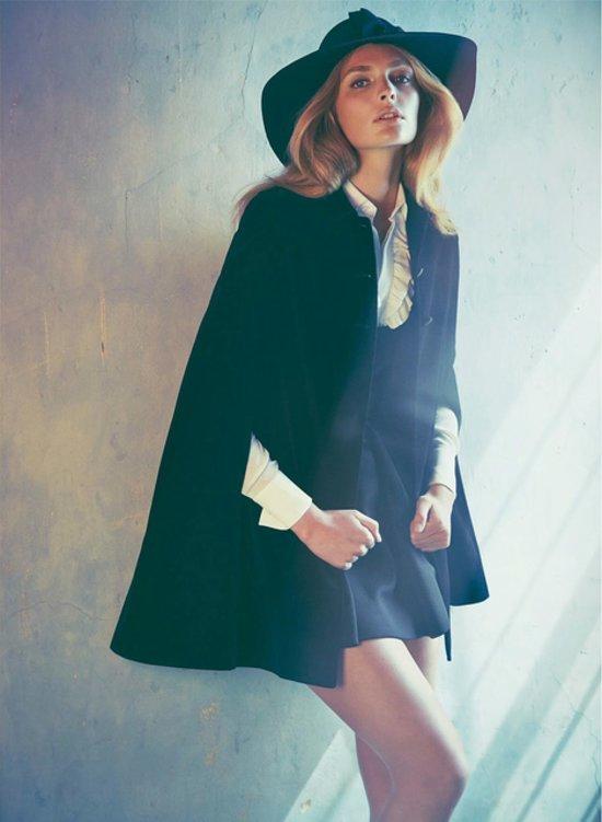 Marie Claire UK // September 2014 // Photographer: James Macari // Model: Gertrude Hansen // Stylist: Tiffany Fraser Steele // Makeup: Christine Cherbonnier // Hair: Andre Gunn