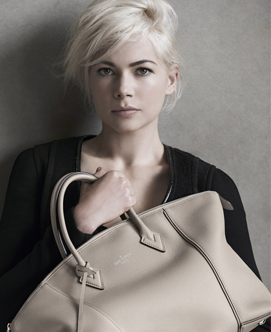 michelle williams louis vuitton fall 2014