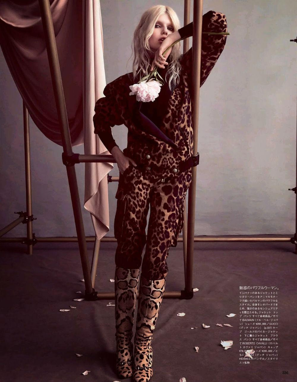 vogue japan october 2014 editorial leopard print
