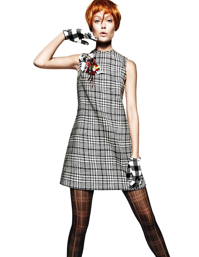 Frida Gustavsson Vogue China October 2013