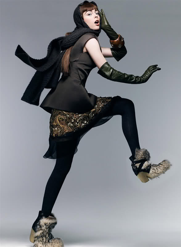 new sensations coco rocha american vogue september 2007