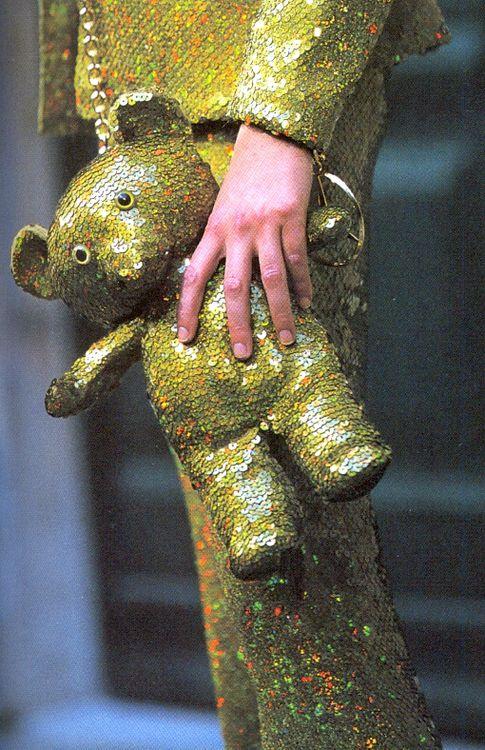 Teddy purse.