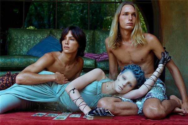 Vogue Italia // Morning Beauty // September 2003 // Photographer: Steven Meisel // Model: Jessica Stam // Stylist: Brana Wolf