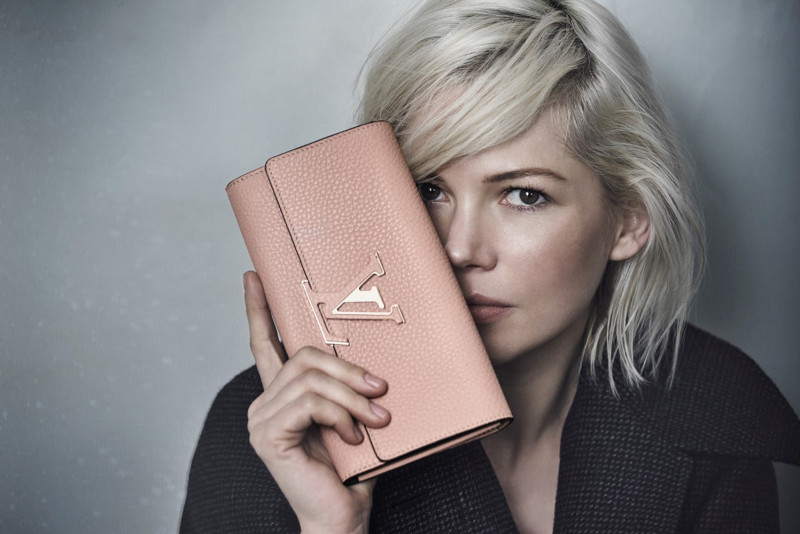 Michelle Williams Louis Vuitton Fall 2015