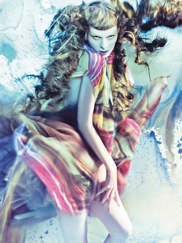 Vogue Italia // Pure Wonder // March 2008 // Photographer: Craig McDean // Model: Karen Elson // Stylist: Tabitha Simmons