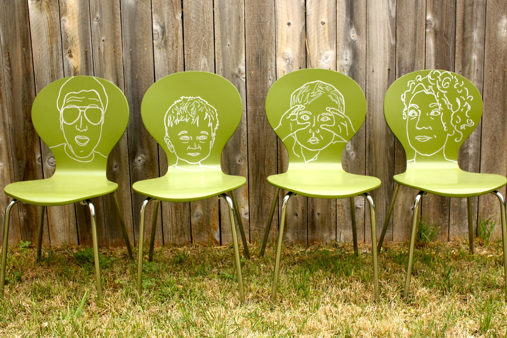 Family Portrait Chairs