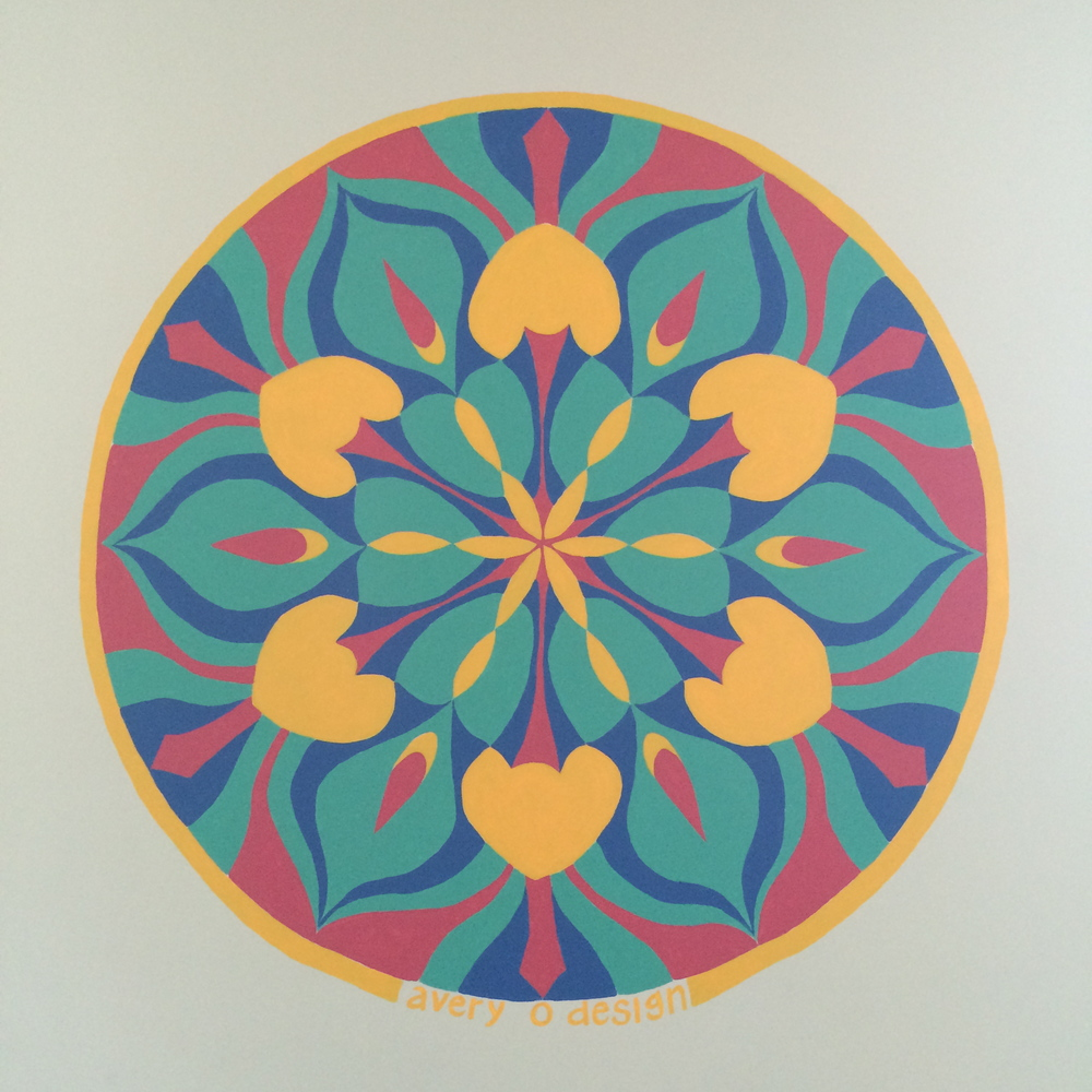 mural artist and furniture painter austin tx mural play by play mandala avery o design. Black Bedroom Furniture Sets. Home Design Ideas