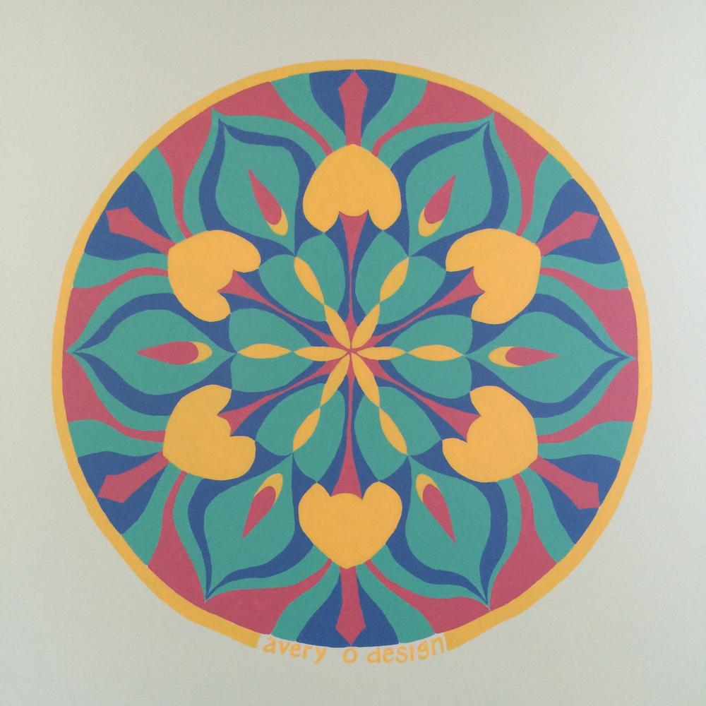 Mandala Mural 2