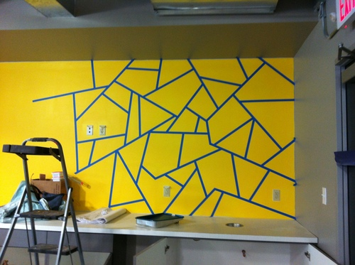 Mural Artist and Illustrator, Austin, TX- A DIY Accent Wall How To ...