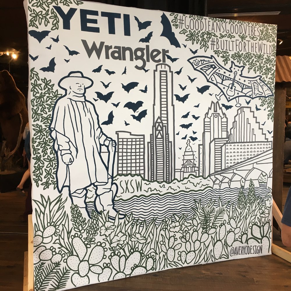 Yeti + Wrangler SXSW Showcase