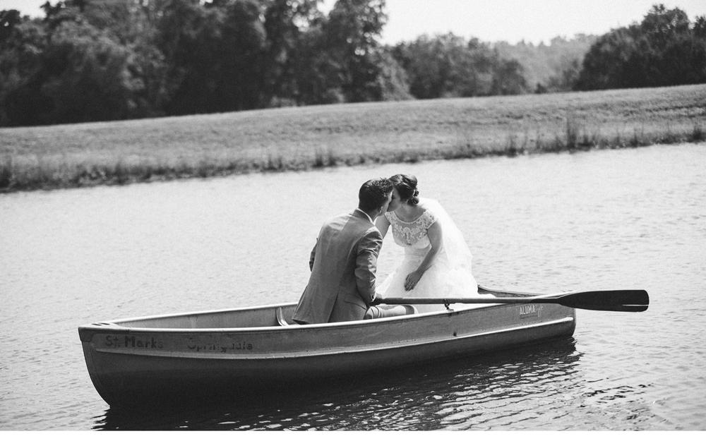 Kissing In Boat