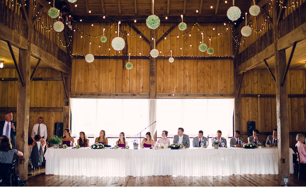 Bridal Party Table