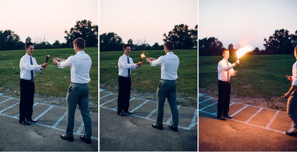After extensive testing, Mr. Sweet and Mr. Baer have found that lighting three packs of sparklers at one time is, in fact, a BAD idea.  Consider that your public service announcement :)