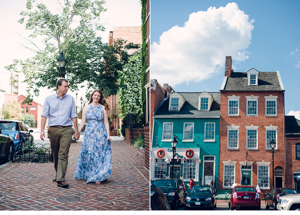 Couple in Fells Point