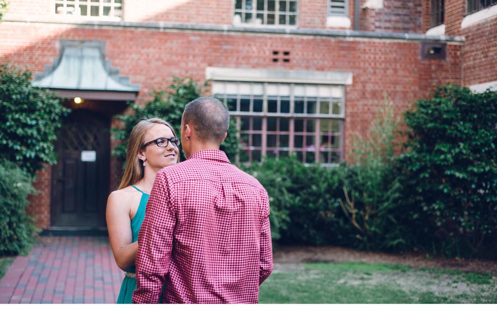 Courtyard Kissing