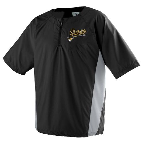 Short Sleeve Pullover Training Jacket — Tornado Alley Sportswear