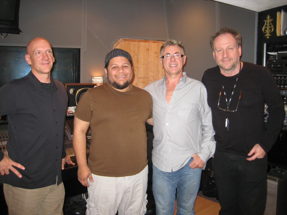 mixing engineer/producer Brian Reeves with Ellis Miah/Keith Forsey/Harold Faltermeyer