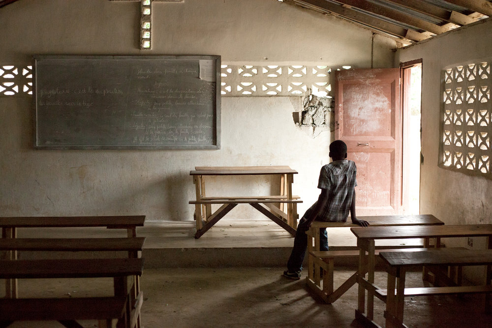 Education is considered a privilege in Haiti. Parents spend an average of $130 every year to send their child to school, while more than 200,000 children remain out of the school completely.
