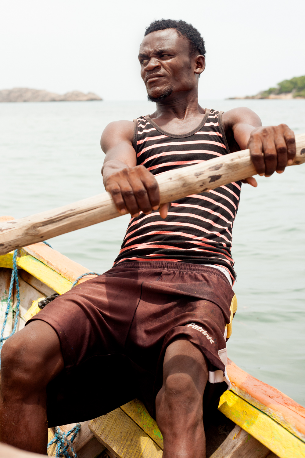 With high unemployment and food scarcity, lots of men have become part-time fishermen, which had led to drastic overfishing of the seas.