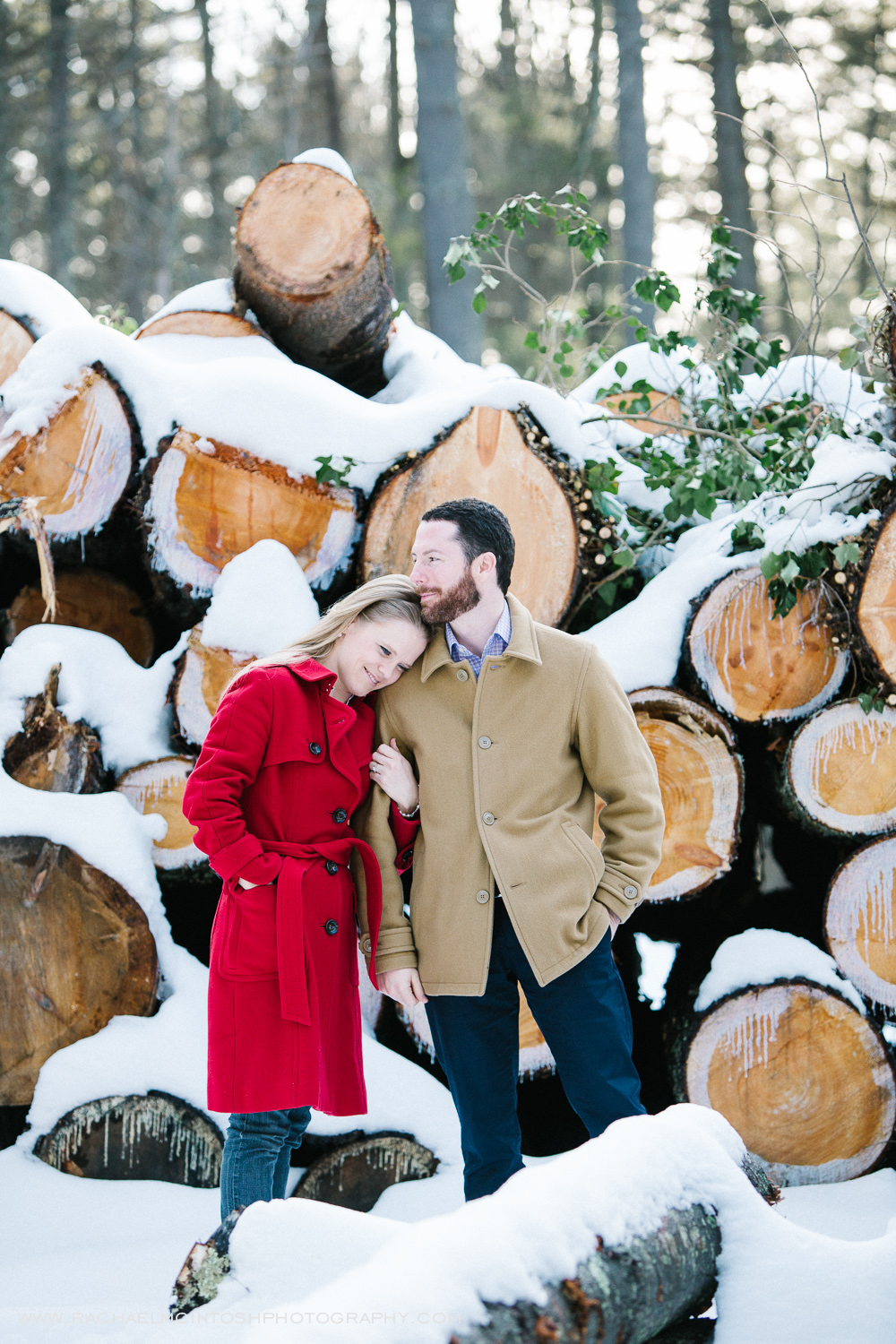 Asheville Engagement Session in the snow  -8.jpg