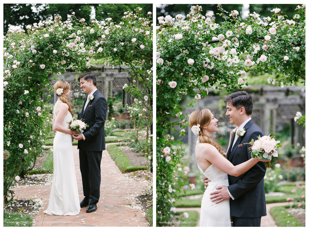 Biltmore Wedding Asheville NC - First Look in Rose Garden-35.jpg