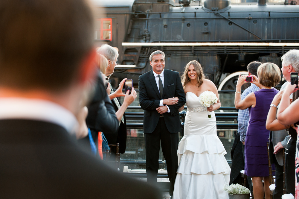 steamwhistle brewery Wedding ceremony