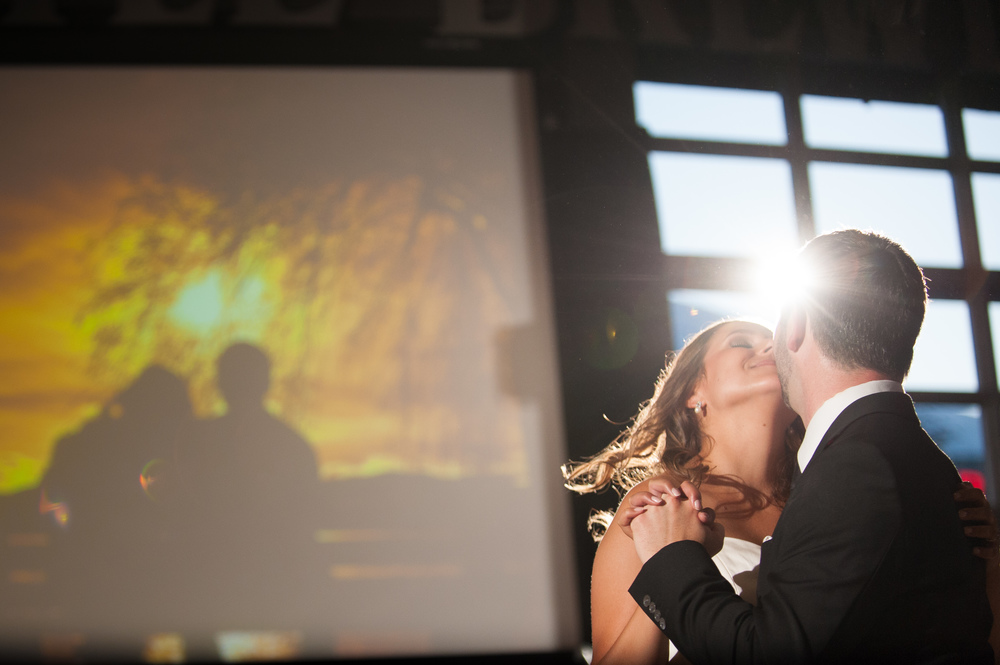 steamWhistle Brewery Wedding first dance