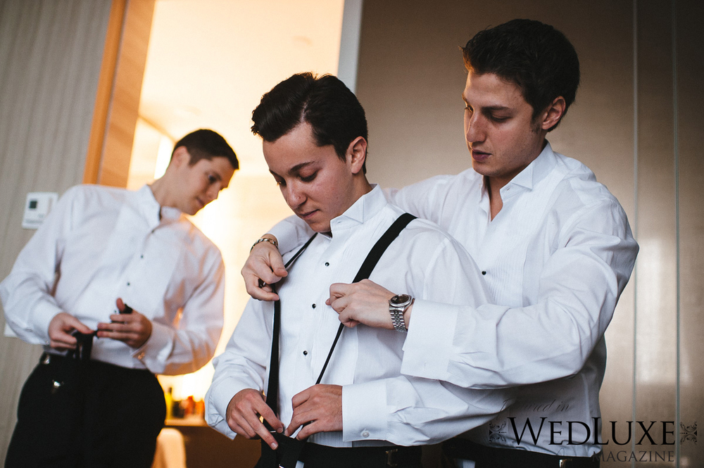 Four Seasons Groomsmen Getting ready