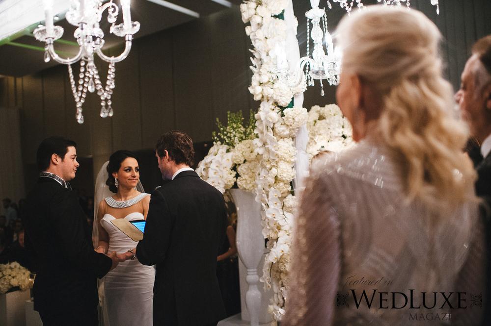 Toronto Four Seasons Jewish Wedding Ceremony