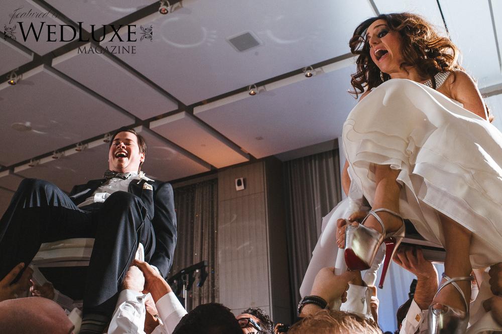 Toronto Jewish Wedding Hora