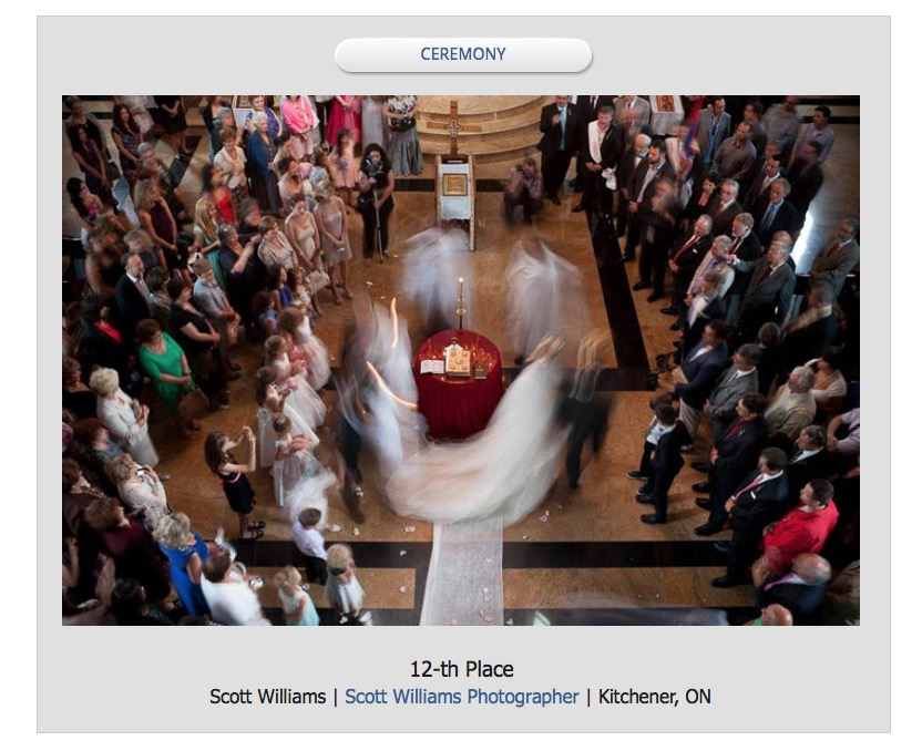 award winning wedding photograph