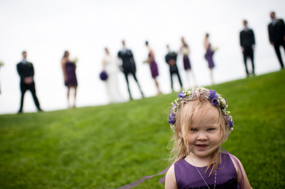Whistle Bear Wedding Bridal Party Portrait