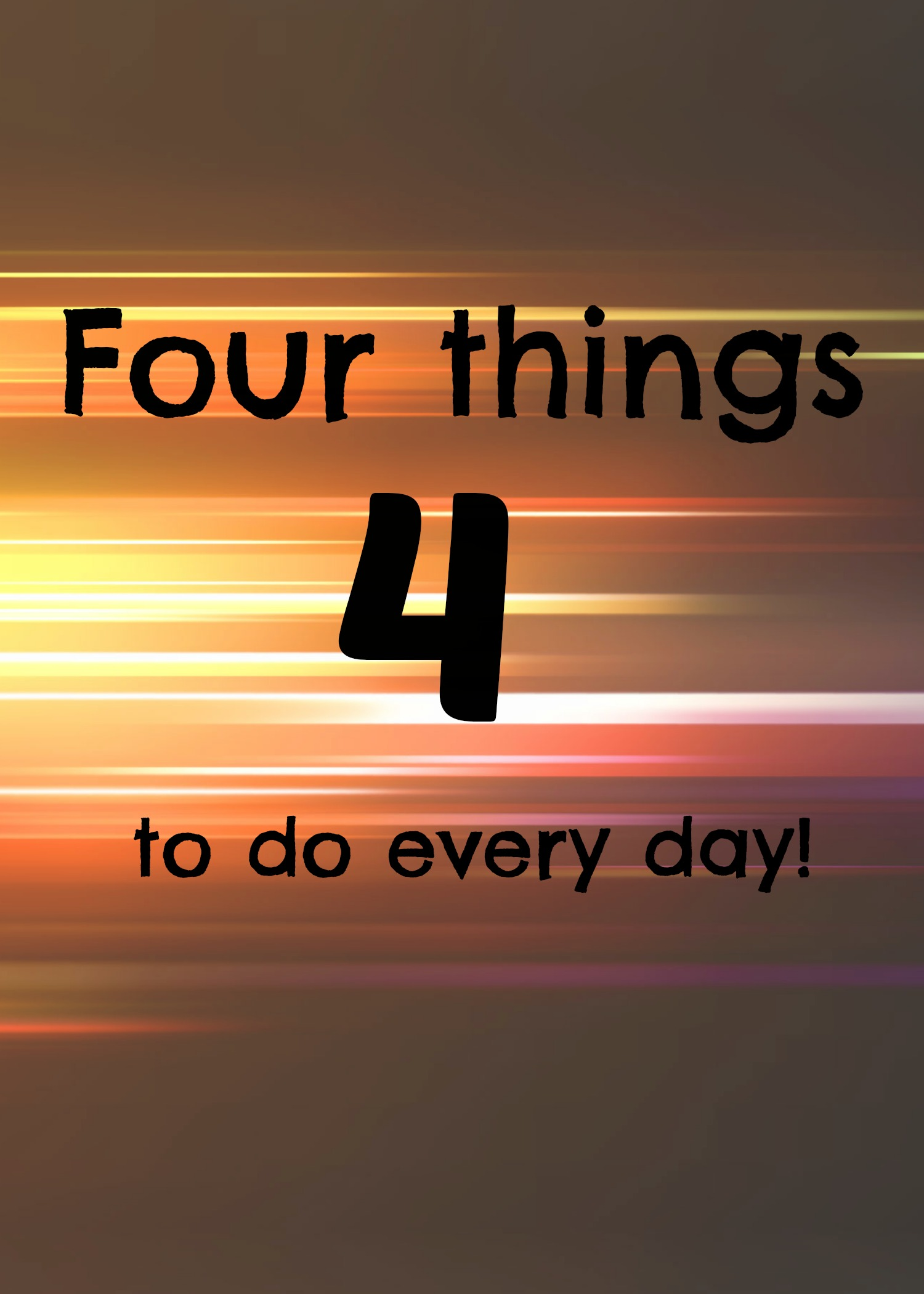 4 things to do