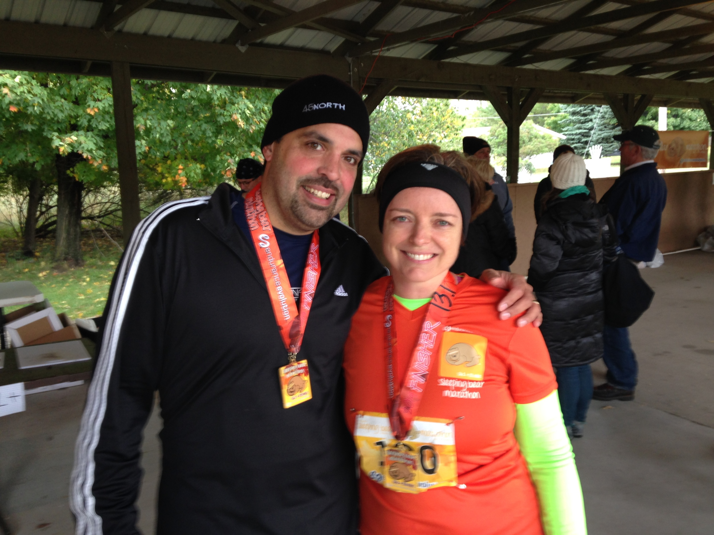 13.1 miles is a very LOOOOOOOOOOONG distance to run. But we did it!