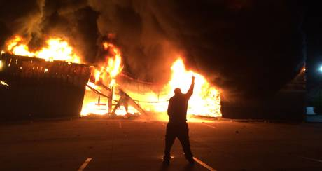 Photo: Tim Walker (in Ferguson)