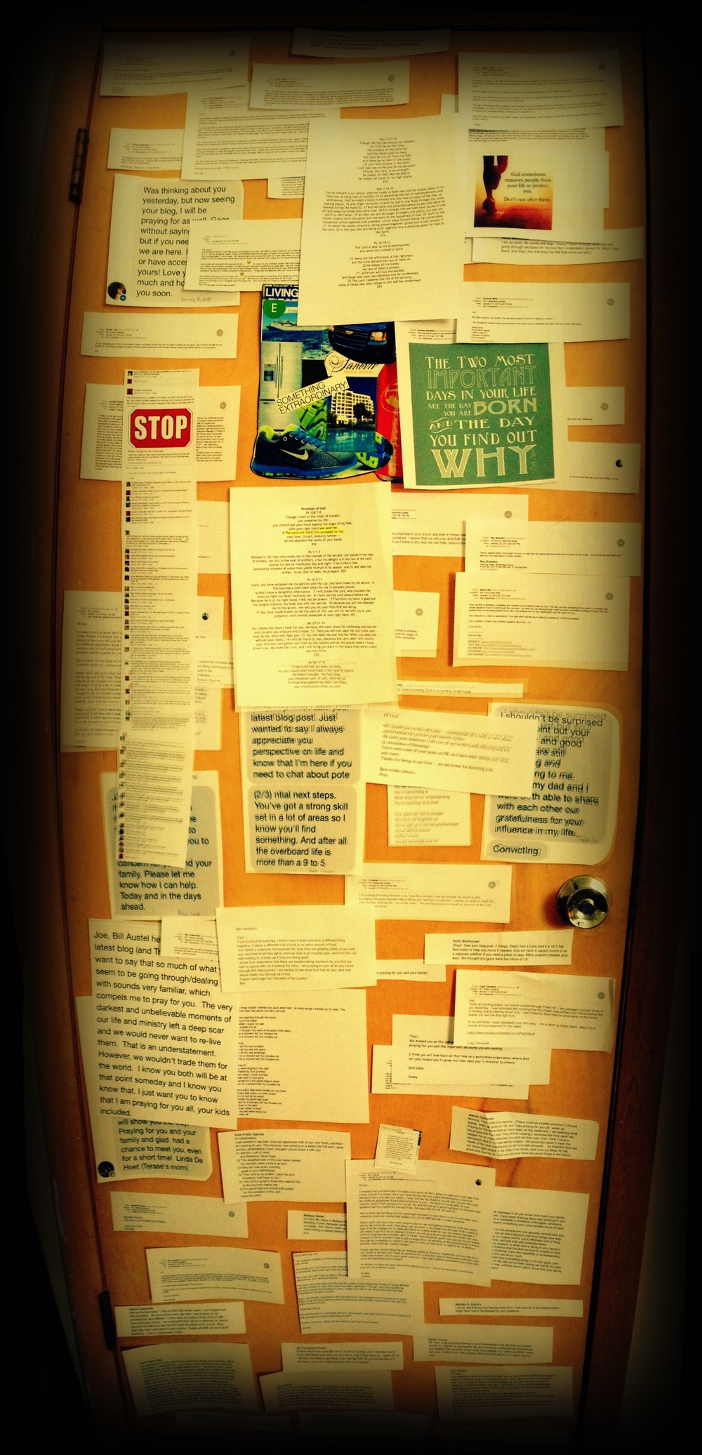 Encouragement Door