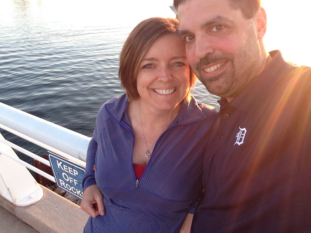 Traci and I love exploring local landmarks and tourist areas...in the offseason. This is a fun spot in downtown TC, during the fall we had the pier to ourselves!