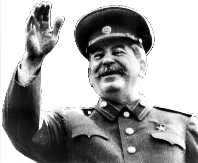 "Stalin ruled Russia for 31 years, exiling and executing millions who were deemed ""threats"" to his leadership. Picture from daily telegraph: http://www.dailytelegraph.com.au/photos-e6freuy9-1111120618276?page=5"