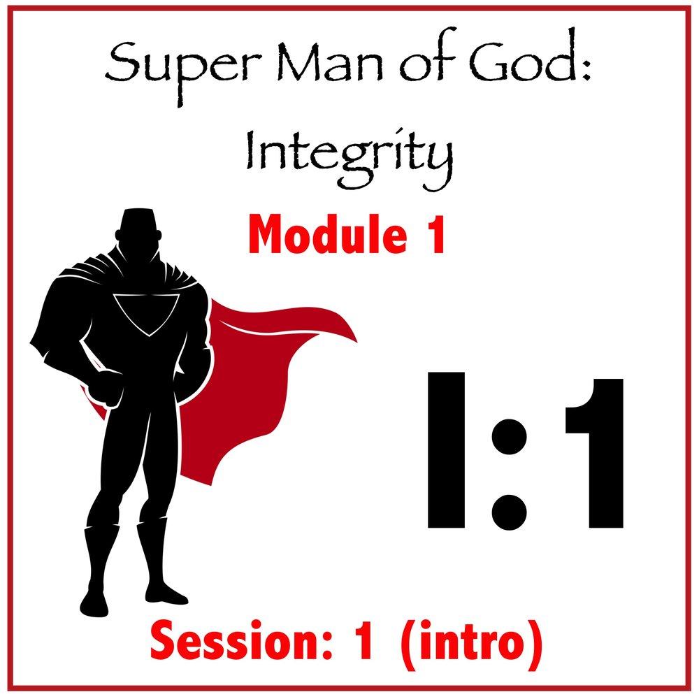 Module 1: Session 1 (Intro)