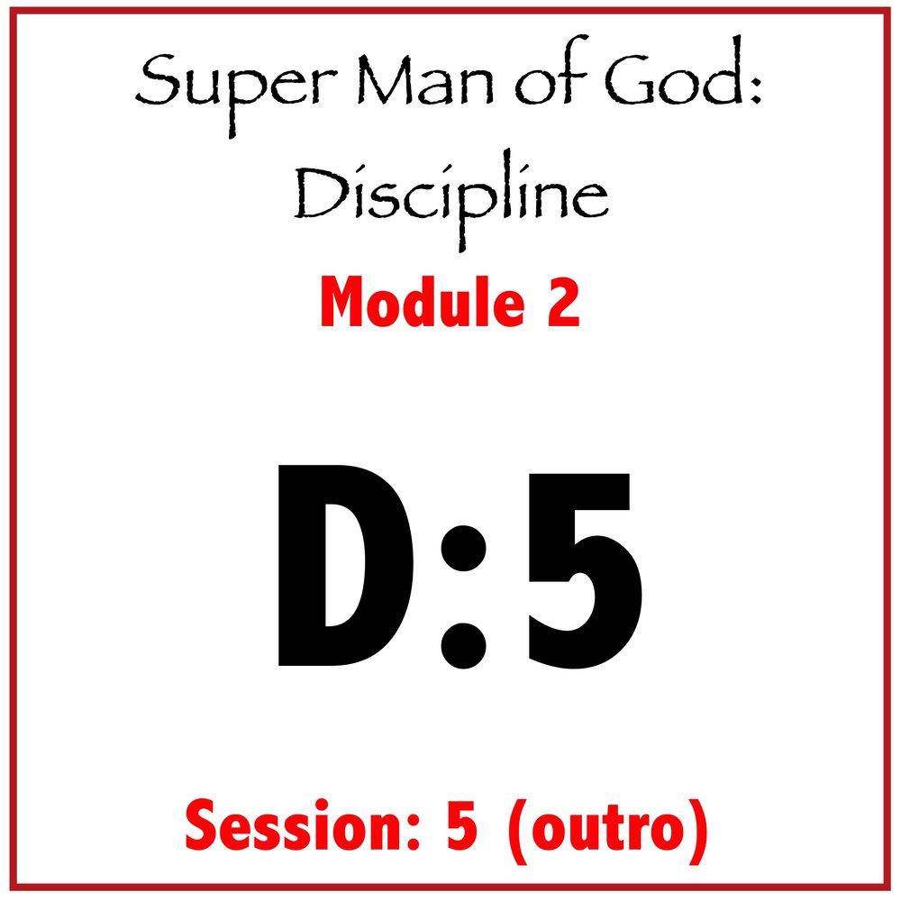 Module 2: Session 5 (Outro)