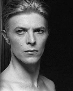 David Bowie by Helmut Newton